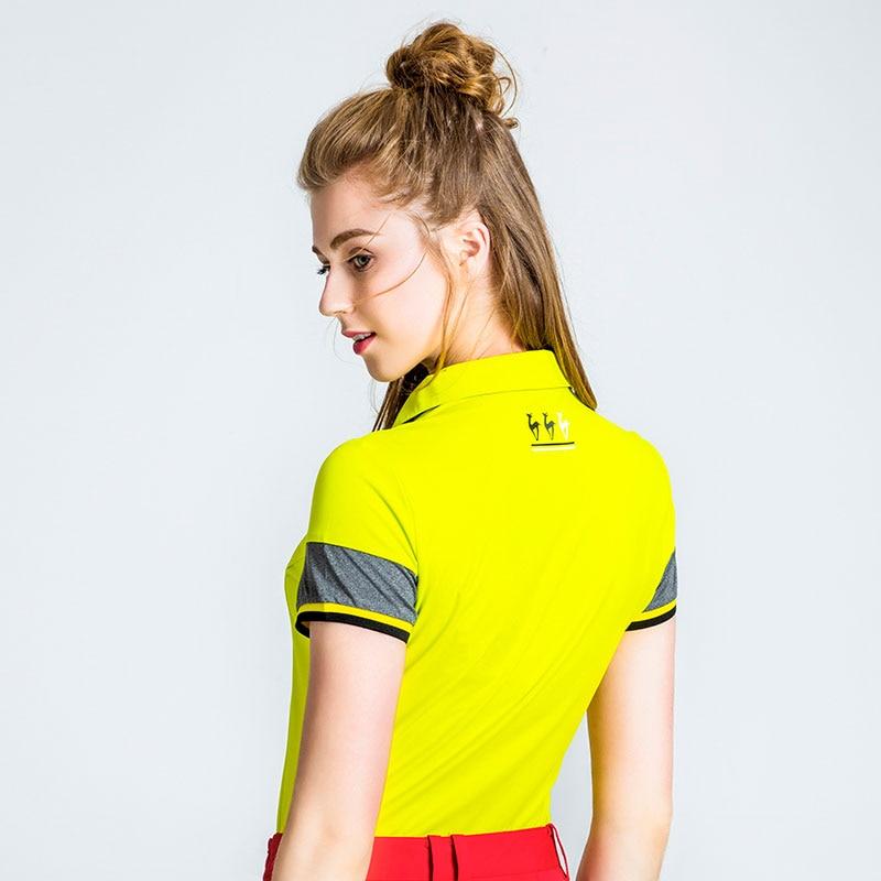 82511692 Αγορά Γκολφ   LUCXES summer golf shirt women polo t clothing slim fit high-elastic  ventilated 2018 anti sweat 120178 free shipping
