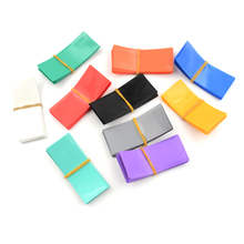 20PCS Li ion 18650 Battery Wrap PVC Heat Shrink Tubing Precut Choice Battery Film Tape Battery