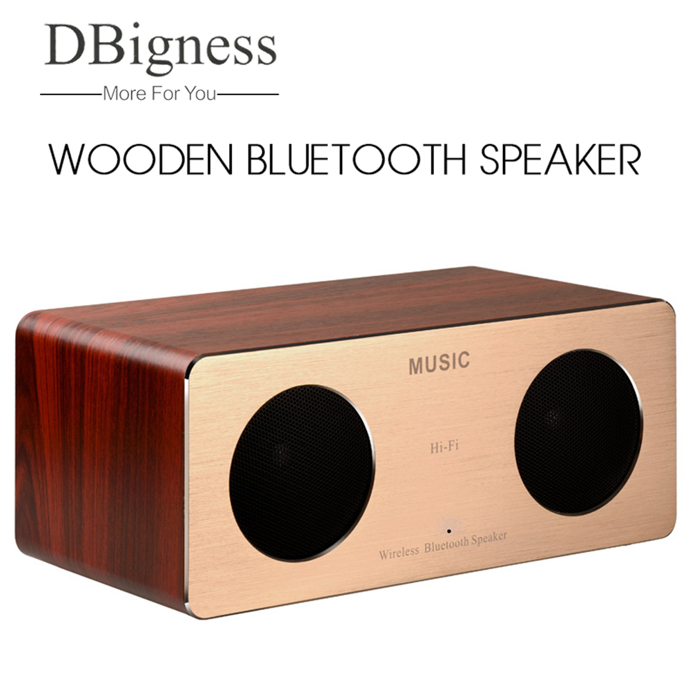 Dbigness Wireless Bluetooth Speaker HIFI Music Speaker Cardboard Portable Outdoor Double-horn Subwoofer Sound Support TF Card dbigness 20w bluetooth speaker cardboard portable speaker music column stereo speaker super bass boombox car outdoor subwoofer