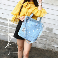 Blue Denim Shoulder Bag Modis Women Bolso Bolsa Sac Main Femme Torebki Damskie Casual Handbags Luxury Crossbody Bags Borsa Donna