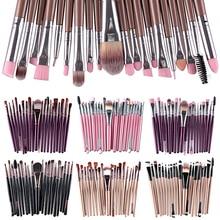 BEST SALE Hot 20X Makeup Set Powder Foundation Eyeshadow Eyeliner Lip Cosmetic Beauty Brushes        AVLD