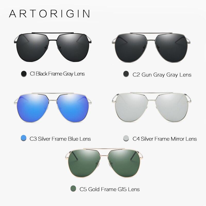 ARTORIGIN HD Óculos Polarizados Para As Mulheres Flat Top AT9021Box Aviação  Quadro Grande Óculos De Sol Dos Homens Óculos com Caixa em Óculos de sol de  ... bf16364cb6