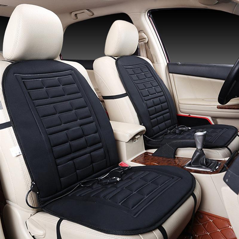 VORCOOL 2 stücke Beheizte Auto Sitzkissen Temperatur Control Beheizte Pad Kissen Abdeckung Auto Sitz Wärmer Sitzbezüge Für Auto auto SUV