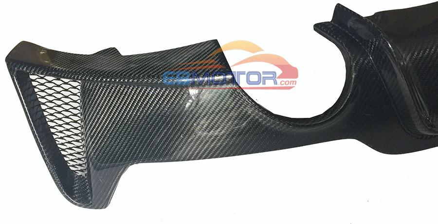 Carbon Fiber Rear Diffuser For BMW F32 F33 F36 Coupe M-Sport Models 14UP b381