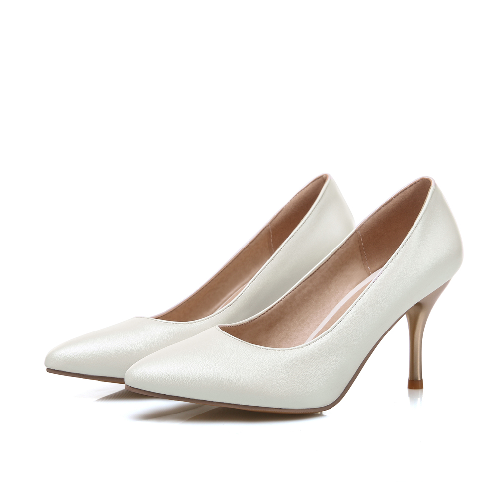 ARMOIRE New Glossy Sexy Women <font><b>Nude</b></font> Pumps Blue Pink Purple White High Heels Ladies Formal Dress Shoes AM-9 Plus Big <font><b>Size</b></font> <font><b>12</b></font> 30 48