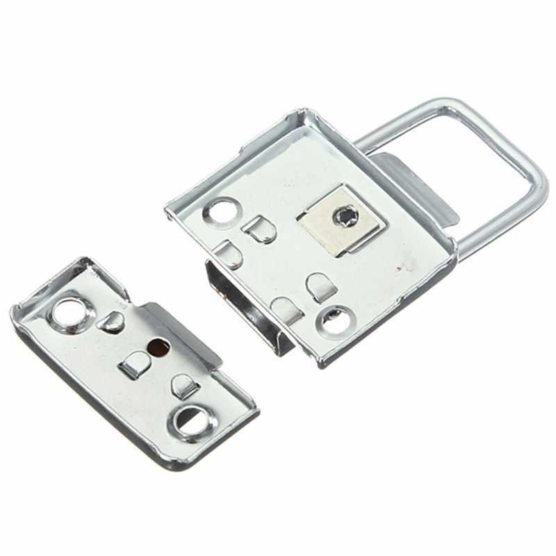 MTGATHER хромированная защелка из нержавеющей стали для ящика на груди, чемодан, инструмент, застежка 43 мм H144, Просто поднимите руку, чтобы открыть