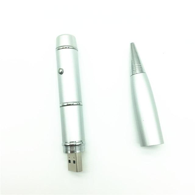 Stylo à bille chaud modèle lumière Laser usb flash stylo lecteur clé USB 4 GB 8 GB 16 GB 32 GB 64 GB cadeau dentreprise usb pilote