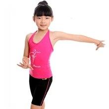 Child Latin Dance Clothing Latin Pants & Vest Latin Fringe Clothes