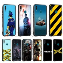 Lavaza Polizei Symbol Fall für Huawei Mate 10 P8 P9 P10 P20 P30 Y7 Y9 Lite Pro P Smart Mini 2017 2019 2018(China)