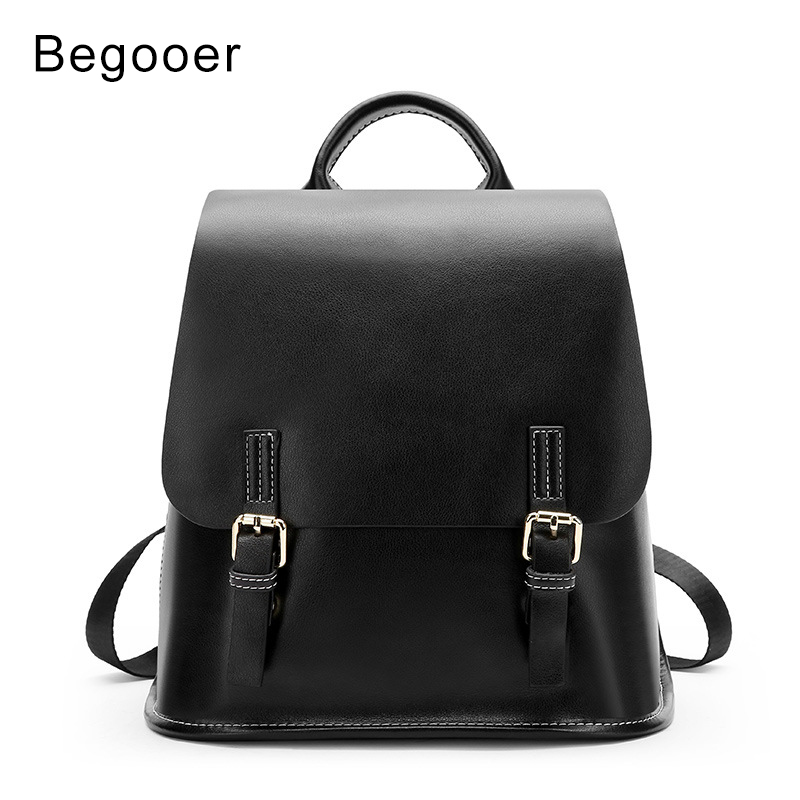 33d95ea97350 Women Backpacks Genuine Leather Female Travel Shoulder Bag Backpack Women  Belt Bag College School Bags Backpack Girl Mochila