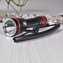 Professional Diving Flashlight 8000 Lumens CREE XM-L2 Underwater 200 meter Diving Torch Linternas Waterproof Light Lamp