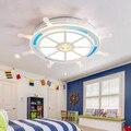 Детская комната акриловая Светодиодная потолочная лампа для детской спальни потолочные светодиодные светильники кухня Холл ресторана осв...