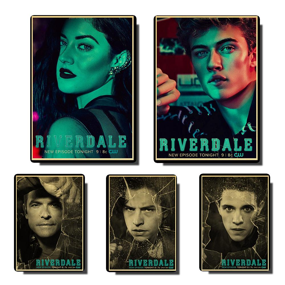 Riverdale Vintage Posters Prints Wall Painting High Quality Decor Poster Wall Painting Home Decoration