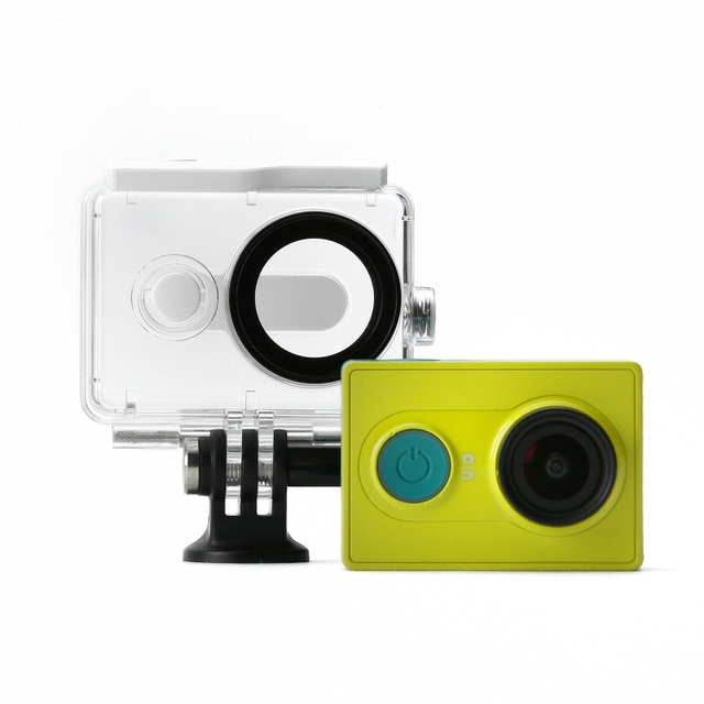 New Version IN STOCK! Original Xiaomi Yi Camera Waterproof Case, Mi Yi 40M Diving Sports Waterproof Box, Yi Camera Accessories