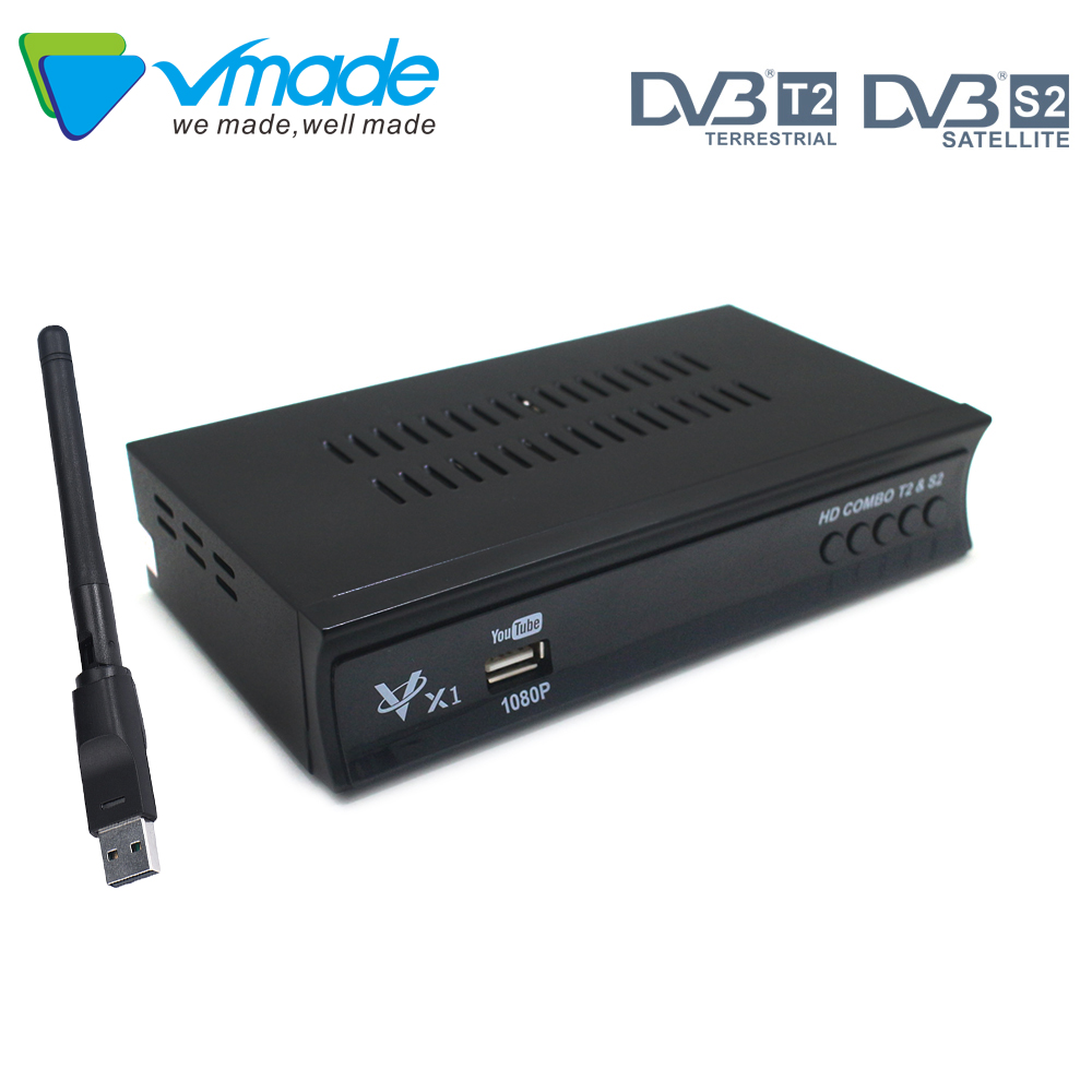 Fully HD Digital Dvb S2 Satellite TV Receiver Tv Box Support cccam IPTV IKS,BISS,Youtube TV Tuner set top box for Russia Europe-in Satellite TV Receiver from Consumer Electronics