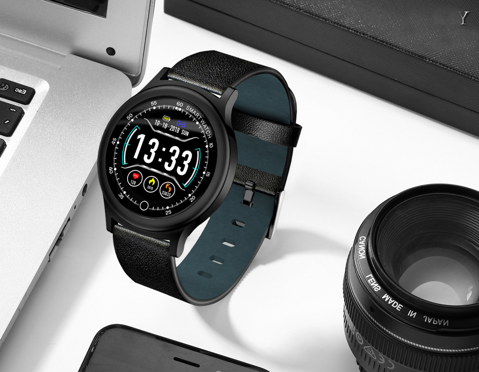 Q28 Smart Watch IP67 Waterproof Wearable Device Bluetooth Pedometer Heart Rate Monitor Men Fashion SmartWatch For AndroidIOS (18)