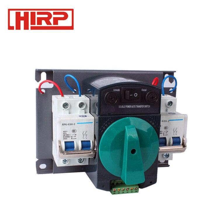 1327.92руб. 5% СКИДКА|2P 63A автоматический переключатель передачи|Автоматические выключатели| |  - AliExpress