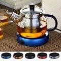 Calefacción eléctrica posavasos calentador de agua portátil escritorio café leche té calentador taza calentamiento bandejas 5 colores