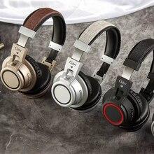 Di lusso HIFI Stereo Auricolari Bluetooth Auricolare Senza Fili Della Cuffia  con Il Mic per il Mobile Xiaomi iPhone Sumsamg Tabl. cc809b4866de