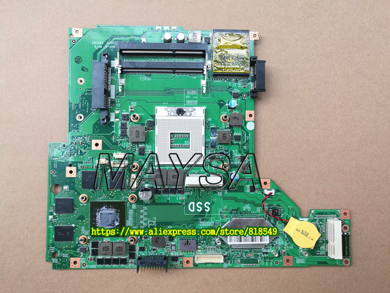 все цены на Original Model MS-16GA1 motherboard Fit For MSI GE60 Laptop system board 100% Tested fully work онлайн