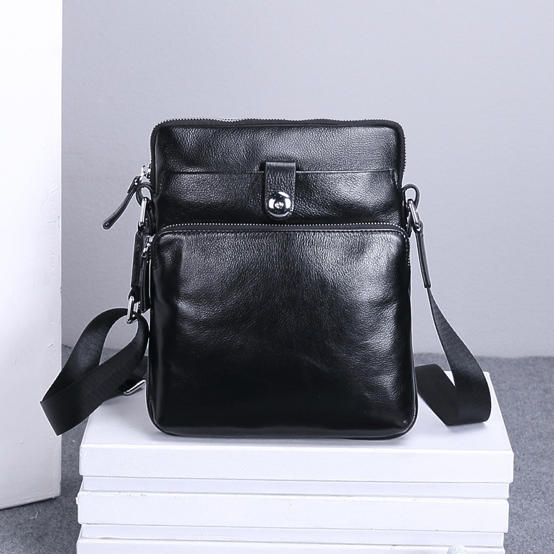 GOOG.YU Brand Business Men's Handbag Bags for gift Shoulder Bags 100% Genuine Leather Men Messenger Bag Casual Crossbody Bag padieoe brand 100% genuine leather men messenger bag casual crossbody bag business men s handbag bags for gift shoulder bags men