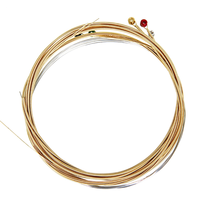 6 strings/set Amola A900 A910 A920 Wound Acoustic Guitar Strings 010 011 012 Extra Light Bronze Light Guitar Parts
