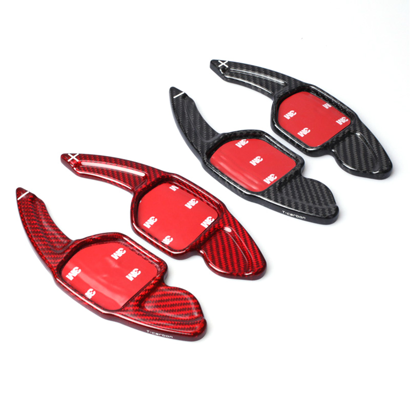 car Gearbox Carbon Fiber Wheel Shifter Paddles Shifter FOR Audi A3 A4L A5 A6L A7 A8 Q3 Q5 Q7 SQ5 S5 S6 S7 S8 R8 RS3 RS6 TT TTS литье chi vietnam r8 18 19 a4l a6l a8l q5 r8 tt