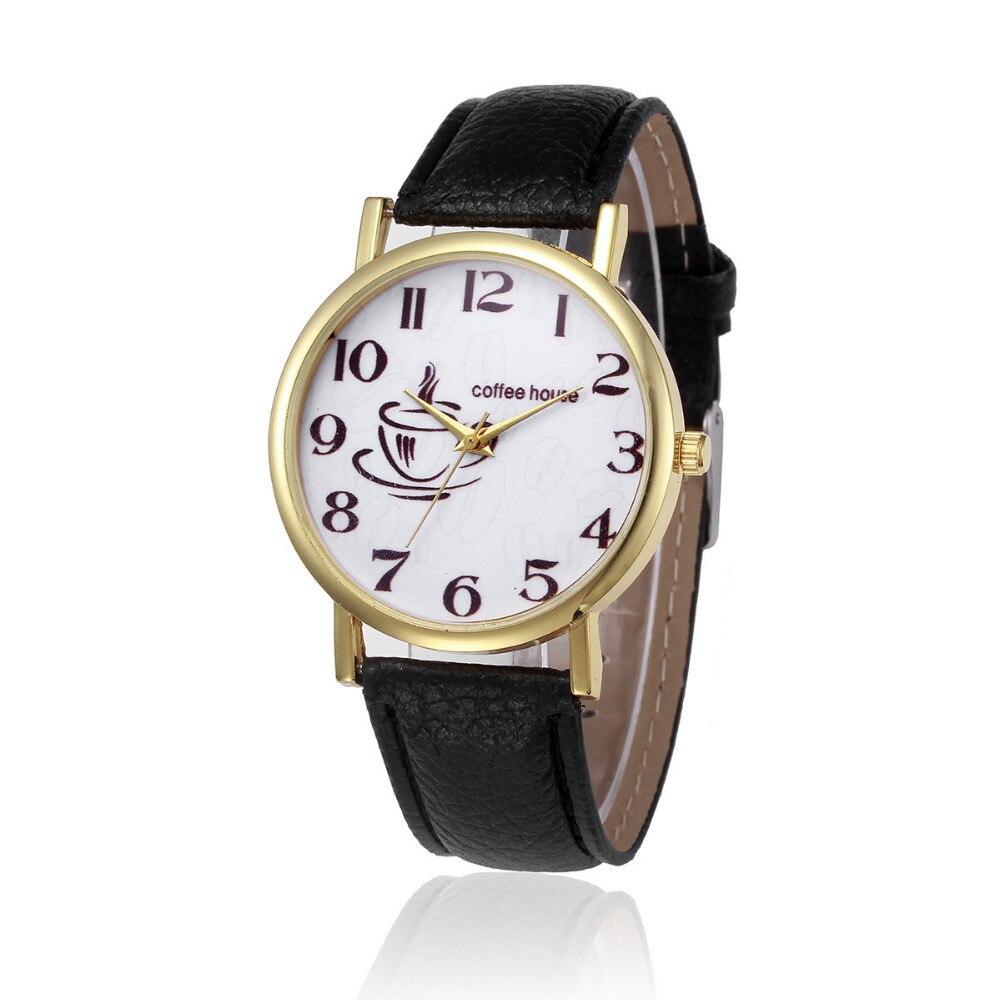 Relogios Masculino Retro Design Leather Band Analog Alloy Quartz Wrist Watch Luxury High Quality Wristwatches @8