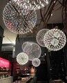 Stainless Steel Pendant Light LED Firework Lamp Ball Raimond Restaurant Lamparas Lustre 110-240V