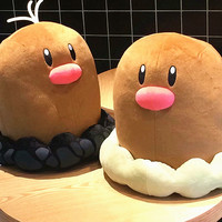 Anime Games Pikachu series new 40CM Diglett plush toy stuffed toys A birthday present for children.