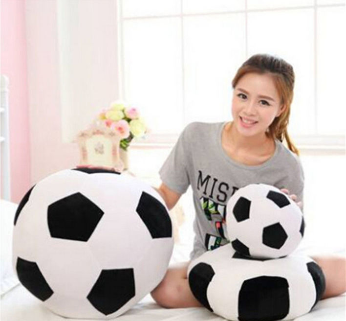 6 Colors 30cm World Football Soccer Plush Soft Stuffed Toy Pillow Cushion Creative Kid Gift