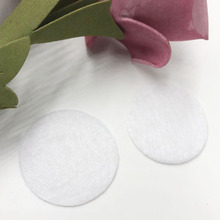 50 шт фетровые 20 мм круглые Аппликации-белые