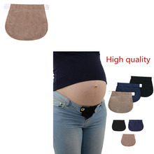 Dropshiping 1Pcs Maternity Pregnancy Waistband Belt ADJUSTABLE Elastic Waist Extender Clothing Pants For Pregnant hot !(China)