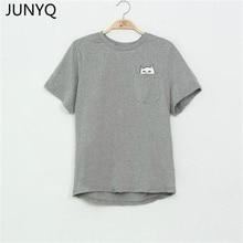 font b 2017 b font Summer T shirt Women Casual Lady Top Tees Cotton Tshirt