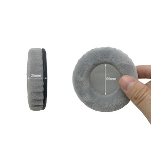 Image 5 - IMTTSTR 1 Pair of Velvet leather Ear Pads earpads earmuff Replacement for Philips Fidelio X1 X 1 X2 X 2 Headphones