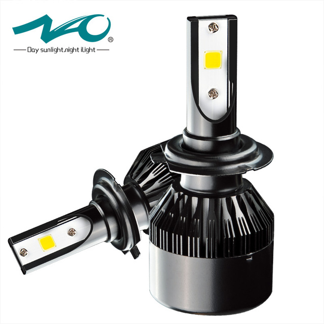 Us 16 77 39 Off Nao H11 Led Scheinwerfer Auto H4 H1 H7 H8 H9 9005 Hb3 9006 Hb4 32 Watt 3500lm Led Lampe Auto Lampe Cob Externe Licht F2 In Nao H11