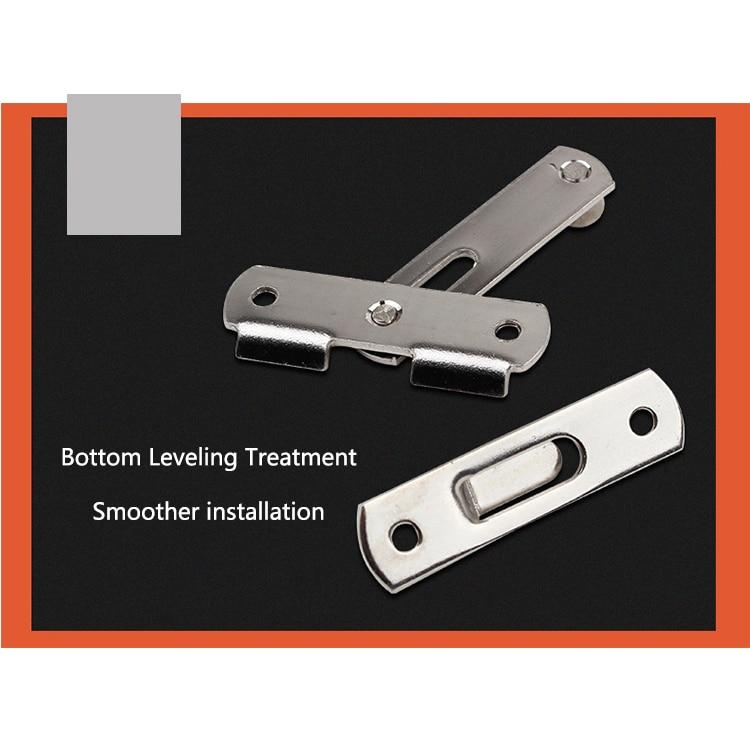 Stainless Steel Buckle Door Lock Sliding Door Chain Lock Security Tool Cabinet Window Hardware Pet Cage Buckle Lock Pakistan