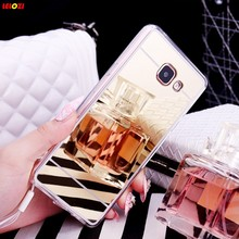 LELOZI Luxury For Samsung Galaxy S3 S4 S5 S6 S7 Edge A5 A7 A510 A710 G530 J5 J7 Note 3 4 5 Mirror Electroplating Soft TPU Case(China)