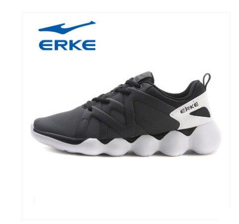 Ерке горячая Распродажа спортивные прогулочная обувь для мужчин 2017 городской бег обувь фирменные спортивные туфли производство квалифицированных мягкие кроссовки