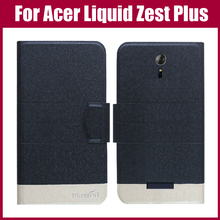 Лидер продаж! Новое поступление 5 цветов модный флип ультратонкий кожаный защитный чехол для acer Liquid Zest Plus Z628 чехол