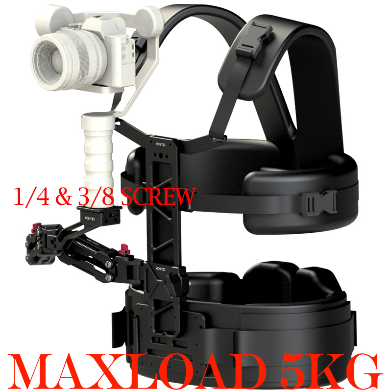mini Steadicam Vest Arm Gimbal Support Rig for DSLR Camera Zhiyun Crane 2 TILTA G1 3-Axis Handheld Stabilizer мобильный телефон philips xenium e560 black