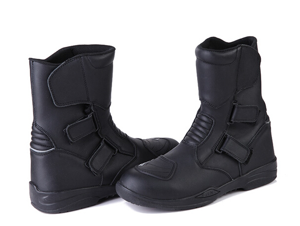 Hot sales Motorcycle boots motorcycle shoes male boots first layer of cowhide ride shoes waterproof windproof