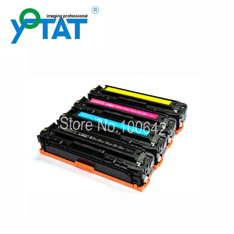 Toner cartridge CB540A CB541A CB542A CB543A for HP Color LaserJet CM1312 CP1215 CP1515 CP1518 картридж hp 651 многоцветный [c2p11ae]
