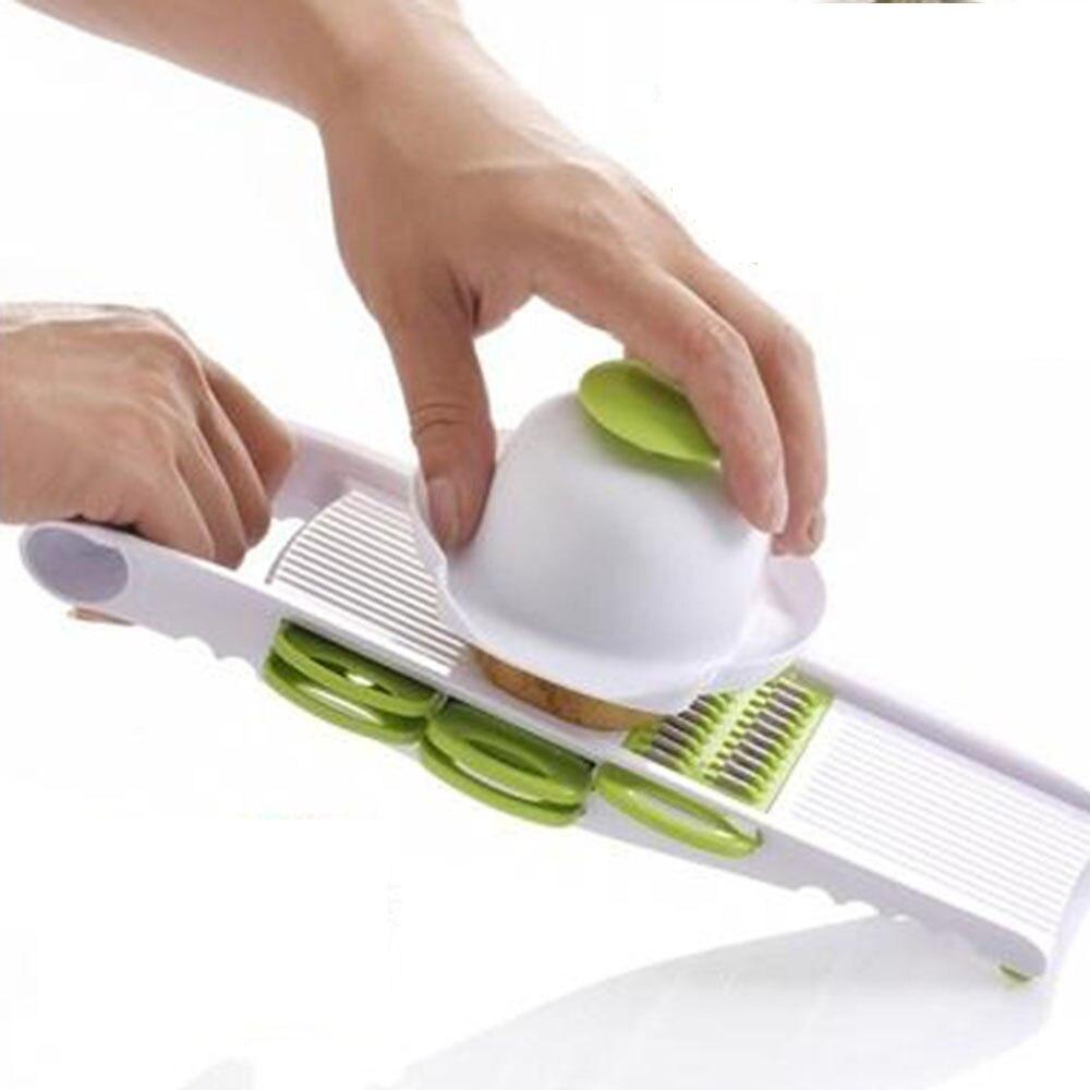 Creative 5 in 1 Adjustable Mandoline Vegetable Fruit Slicer Dicer Chopper Nicer Grater Tools SET