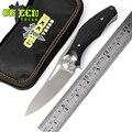 Cuchillo plegable táctico Dark ball bearing GREEN THORN D2 con mango de titanio + G10, cuchillos de supervivencia EDC
