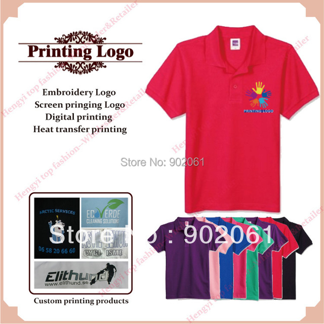 c01c47e54 custom printed T-shirts silk screen digital heat transfer print t shirt  220GSM high quality Wholesale Retail printing service