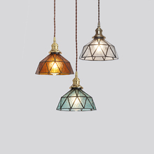 Vintage Pendant Lights Glass Lamp Loft Hanging Light Fixture Bar Kitchen Living Room Art Deco Nordic Suspension Led Hanglamp E27 black iron candle pendant lights loft vintage antique art deco sconce pendant hanging lamp fixture lampadari acciaio tree branch