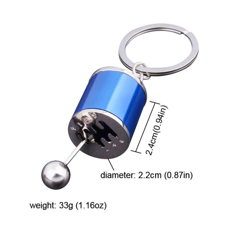 Diecasts Vehicles Fob Keyring Creative Car 6 Speed Gearbox Gear Fidget Toy Shift Racing Tuning Model Keychain Novelty Car Toys