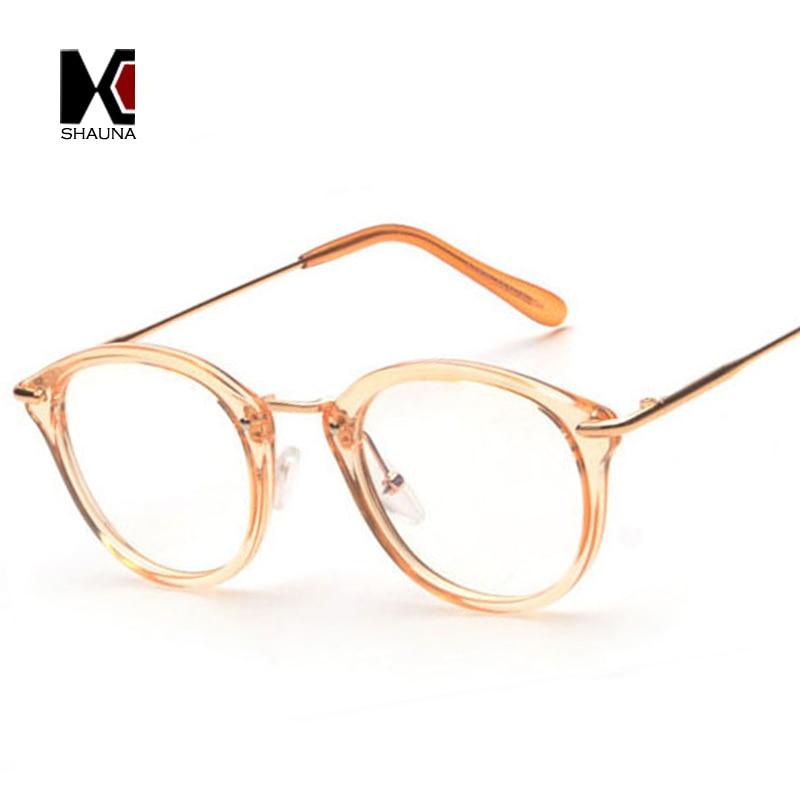 Fashion Women Glasses Frame Men Eyeglasses Frame Vintage Round Clear Lens Glasses 1