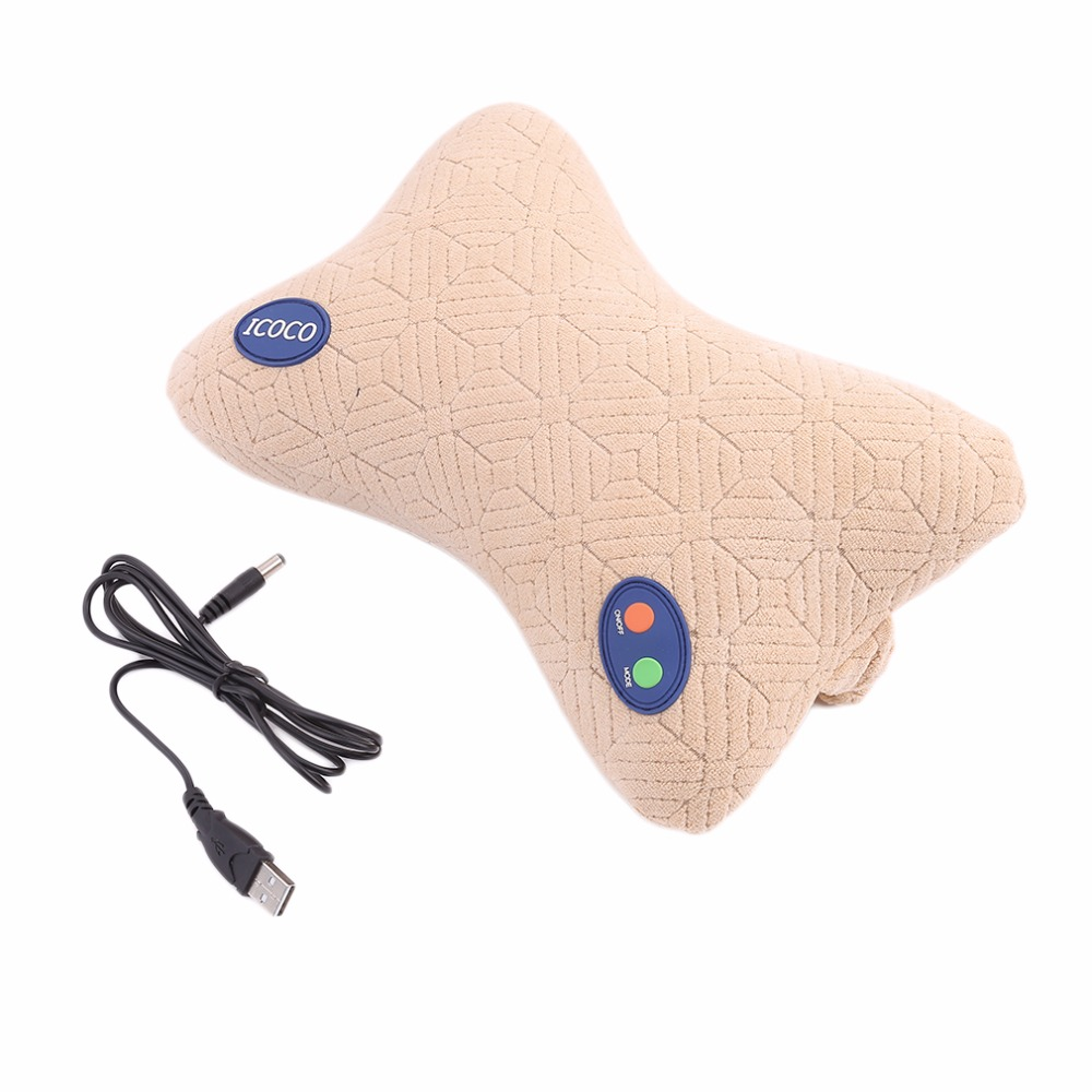 YL-60201 Practical Useful Car Home 2 In 1 Brain Relaxing Massage Pillow For Improving Neck Shoulder Ache top sell